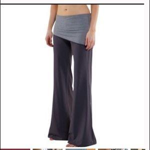 VTG lululemon wide leg fold over waltz pant